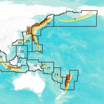 Image: Circum-Pacific subduction zones