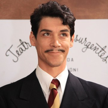 """The actor Oscar Jaenada plays the late Mario Moreno, """"Cantinflas"""" in the recently released movie """"Cantinflas."""" Ángel González / Courtesy of KenioFilms.com ..."""