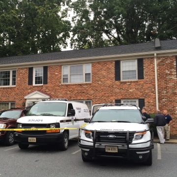Image: Charlottesville Police are executing a search warrant on an apartment and vehicle