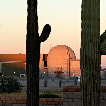 The Palo Verde Nuclear generating plant