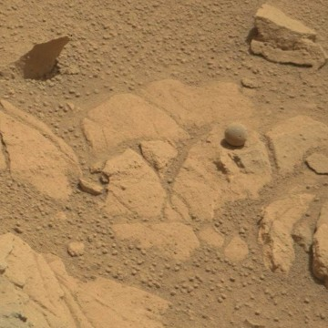 Image: Martian marble