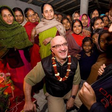 Image: Pierre Ferrari, CEO of Heifer International