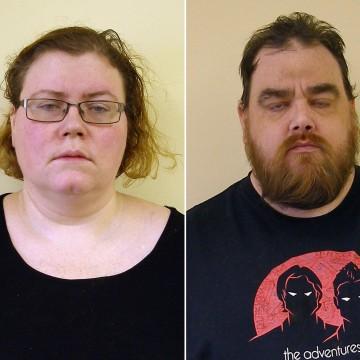 Image: Melissa Robitille and her boyfriend, Walter Richter III