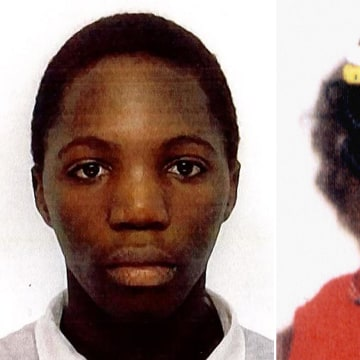 Image: Kristy Bamu, left, and Victoria Climbie