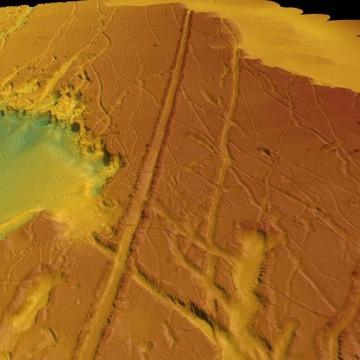 Image: Iceberg scours