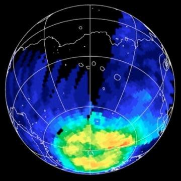 Image: Ozone distribution