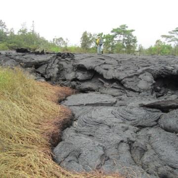IMAGE: Kilauea lava flow