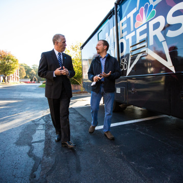 Chuck Todd speaks with Republican Senate Candidate Thom Tillis.