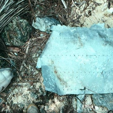 Image: Aluminum fragment