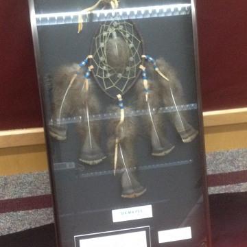 IMAGE: Dreamcatcher plaque presented to Marysville School District