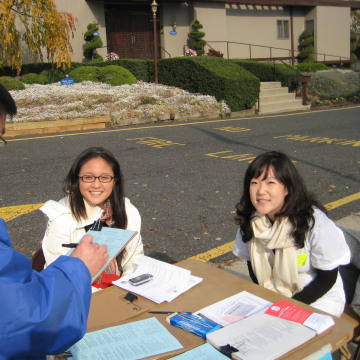 Volunteers from Asian American Legal Defense and Education Fund (AALDEF) conducted an exit poll of Asian-American voters after the 2000 elections, and plan to do the same for today's midterms.