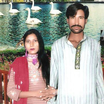 Image: Shama Bibi and Sajjad Maseeh