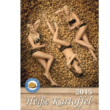 The Bavarian Farmers' Association issued a calendar featuring their members' impressive tubers.