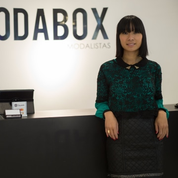 Monica Phromsavanh opened her second business, ModaBox, in April 2014 in Philadelphia's South Street Seaport.