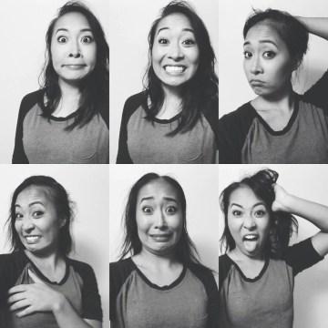 Jackie Nguyen takes a series of selfies documenting her hair loss.