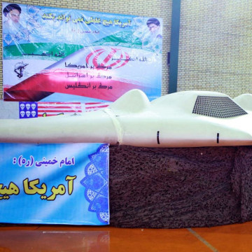 Image: US President Obama asks for return of US drone in Iran