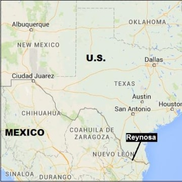 IMAGE: Map showing Reynosa, Mexico
