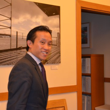 David Chiu begins his final days as the first Chinese-American President of the San Francisco Board of Supervisors.