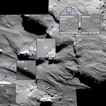 Good Night, Sweet Probe: Astronomers Say Farewell to Philae Comet Lander