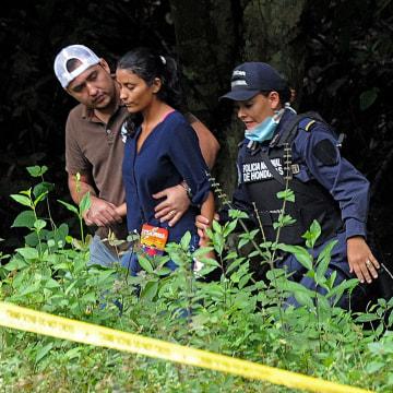 Image: HONDURAS-CRIME-MISS