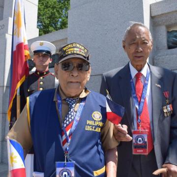 Filipino WWII Vets Still Fighting for Veterans Benefits