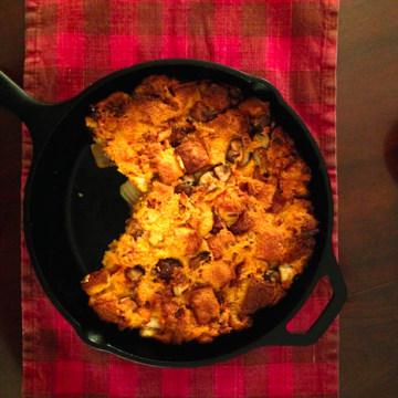 Yuri Kwon shares her recipe for Kimchi, Bacon & Wild Mushroom Stuffing.