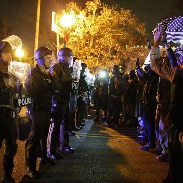 Image: Grand Jury verdict on the Michael Brown shooting