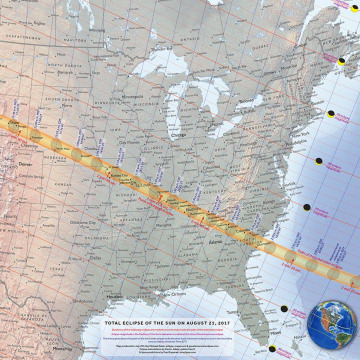 Image: 2017 eclipse path