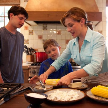 Image: Pati Jinich with family