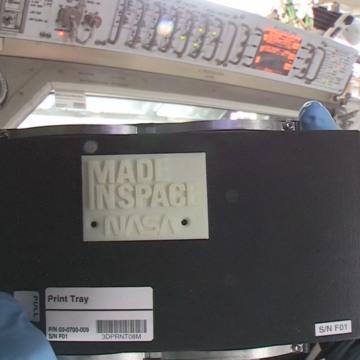 Image: 3-D-printed part