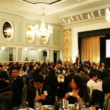 "APIASF hosted its ""Today's Minds, Tomorrow's Future"" Scholarship Benefit at the Hilton in New York City on Wednesday, November 12, 2014."