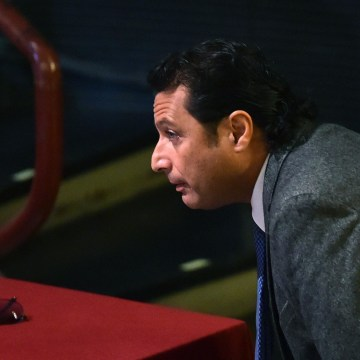 Image: Costa Concordia's captain Francesco Schettino arrives at his trial i