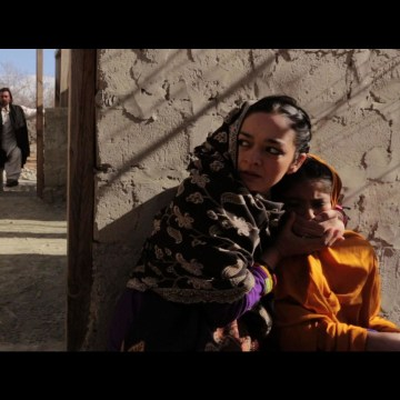 "A scene from Afia Nathaniel's movie, ""Dukhtar,"" which tackles the tough topic of child marriage in Pakistan."