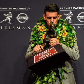 Image: 2014 Heisman Trophy Presentation