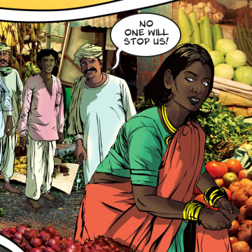 'Priya' is India's newest comic heroine, and a rape survivor.