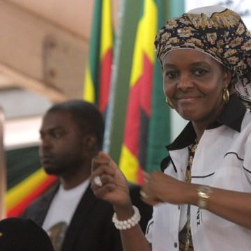 Zimbabwean Grace Mugabe