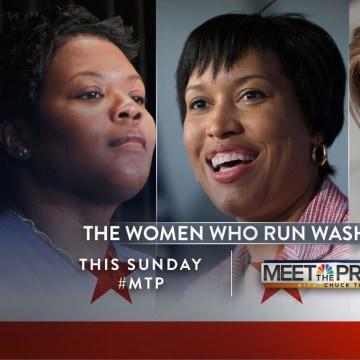 MTP Promo for the Women in Washington Segment.