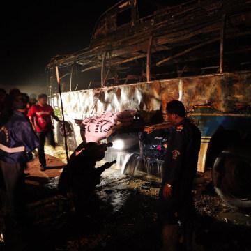Image: PAKISTAN-ROAD-ACCIDENT