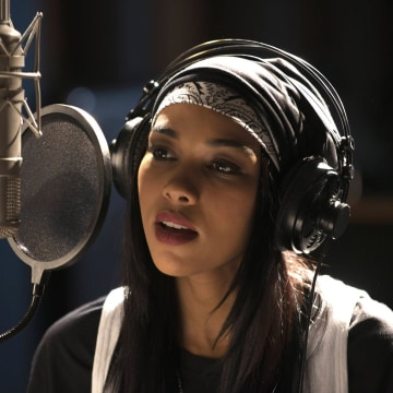 Aaliyah in the all-new Lifetime Original Movie