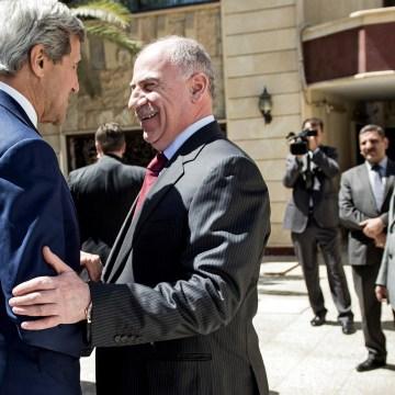 Image: John Kerry, Osama al-Nujaifi