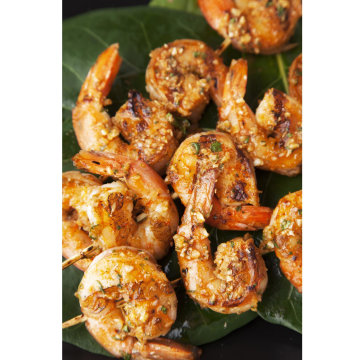 Image: Shrimp Skewer recipe with salsa glaze with chipotle sauce