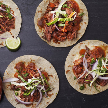 Image: Short-rib tacos from Chef Aaron Sanchez