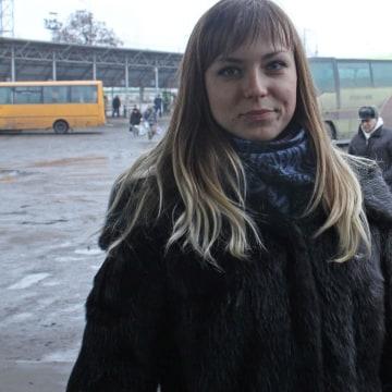 Image: Nastya, 23, a university student in Donetsk, Ukraine