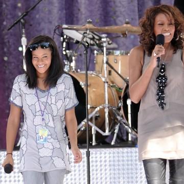Image: Whitney Houston, Bobbi Kristina Brown