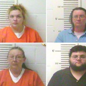 Image: Top: Elizabeth Hupp, Denise Kroutil; Bottom: Rose Brewer, Nathan Wynn Firoved