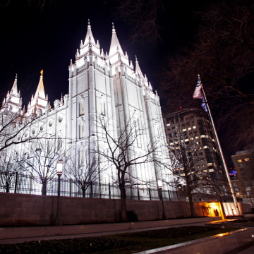 Image:The LDS Church's Mormon Temple in downtown Salt Lake City