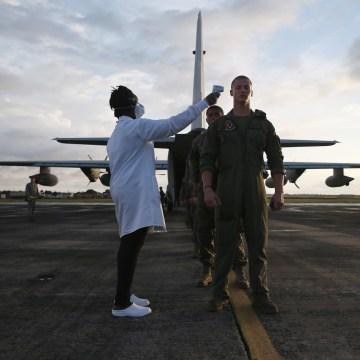 Image: U.S. Marines tested in Liberia