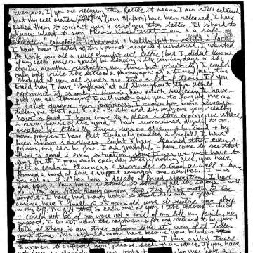 Image: Kayla Mueller letter