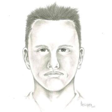 IMAGE: Sketch of Las Vegas road rage suspect