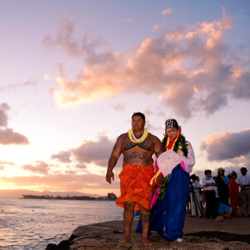"Maria Yoon's Hawaii ""wedding."""